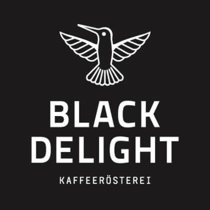Black Delight Kaffeespezialitäten Logo